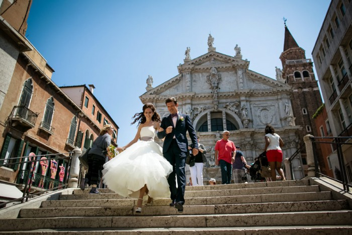 intimate wedding in Venice