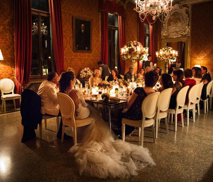 Matrimonio elegante a Venezia