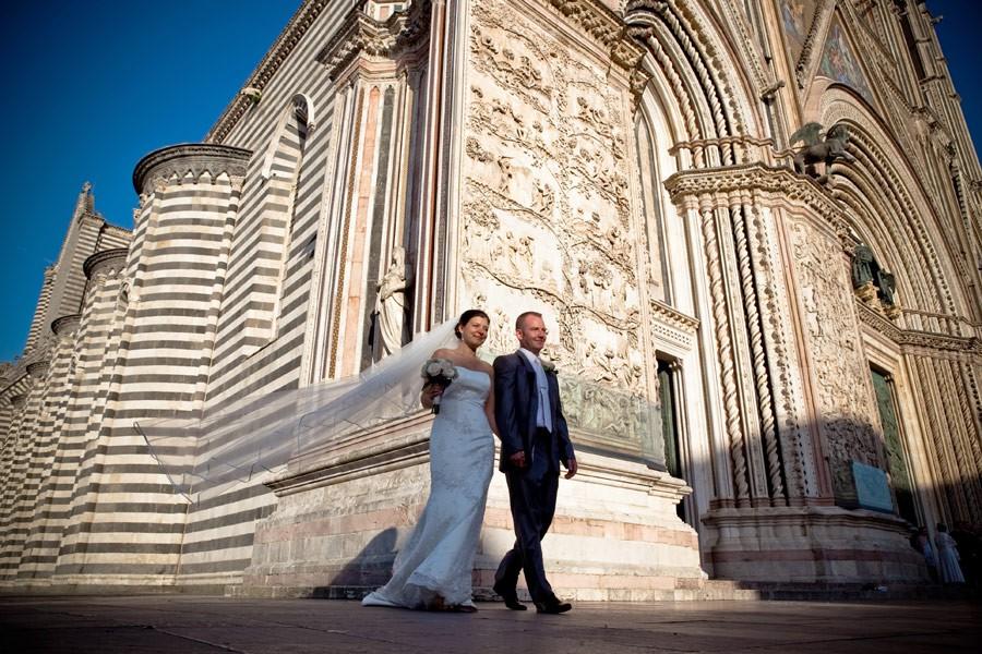 Fotografo di Matrimoni a Orvieto, chiesa di S. Giovenale