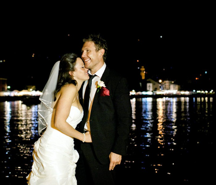 Wedding in Lido di Lenno, Como Lake
