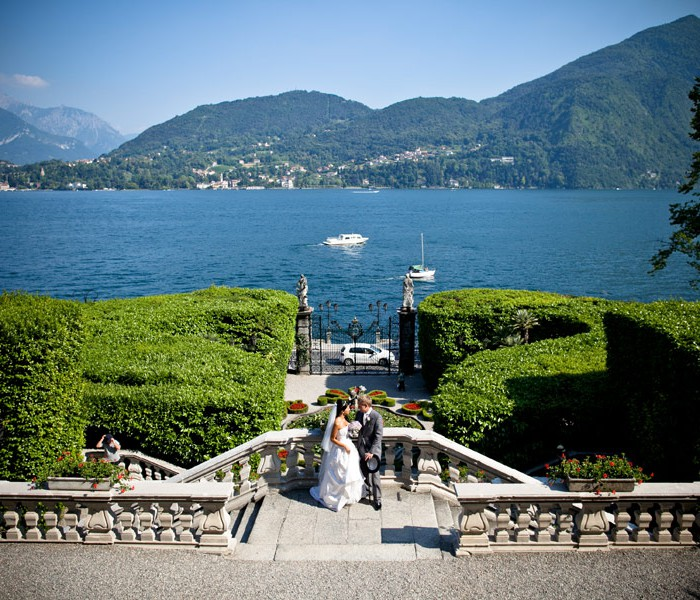 Wedding at Villa Carlotta, lake Como