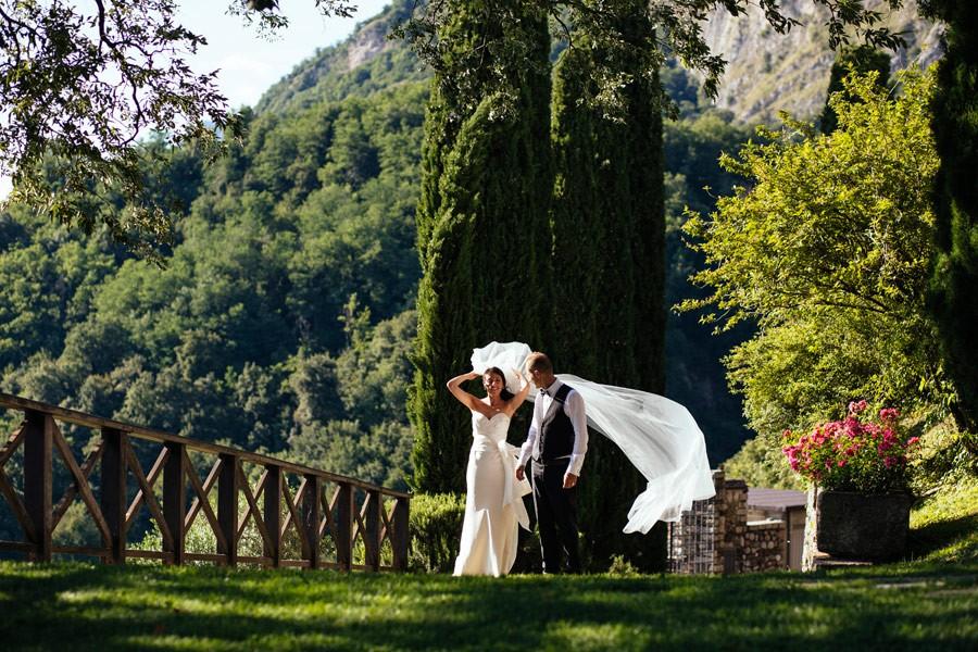 Ricevimento in giardino, Castello di Rossino, Lecco