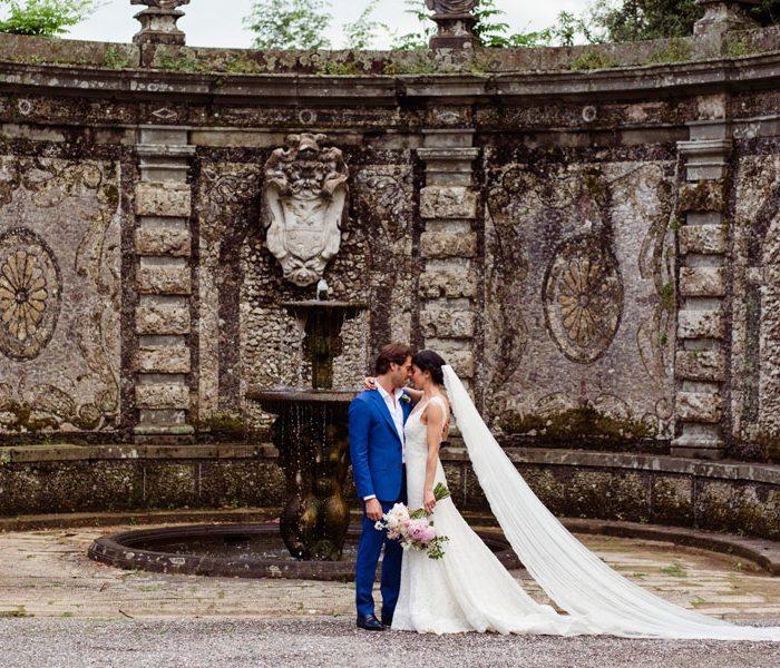Matrimonio con rito ebraico a Lucca, in Toscana