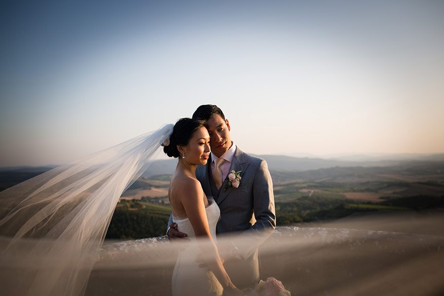 Wedding at Castello La Leccia, Tuscany